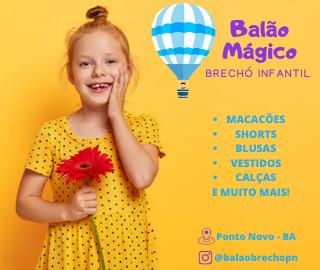 Balão Mágico - Brechó infantil