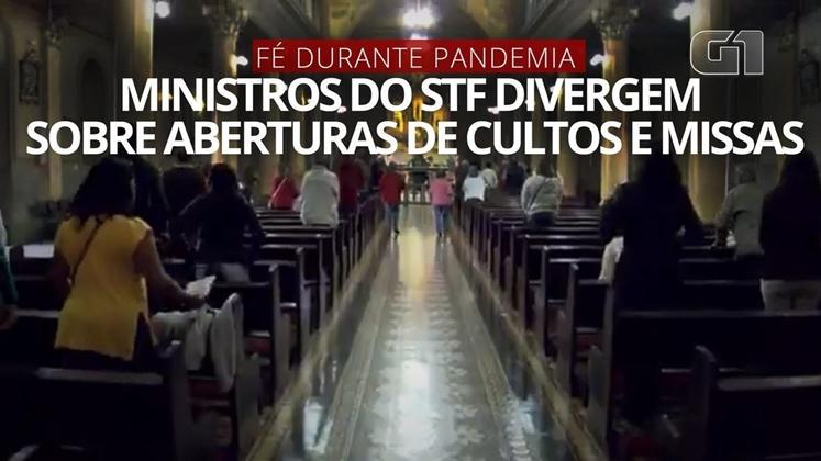 STF nega liberação de missas e cultos durante a pandemia; estados devem decidir