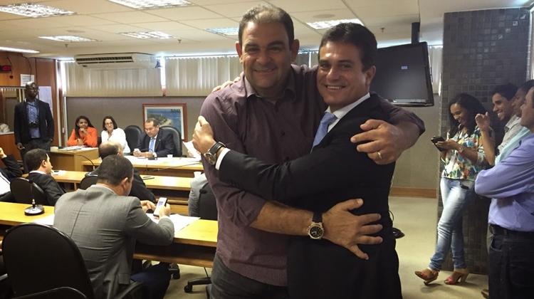 Adelson Carneiro comemora conquista para Ponto Novo