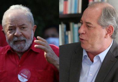 Lula age para garantir palanque no Ceará, base de Ciro Gomes